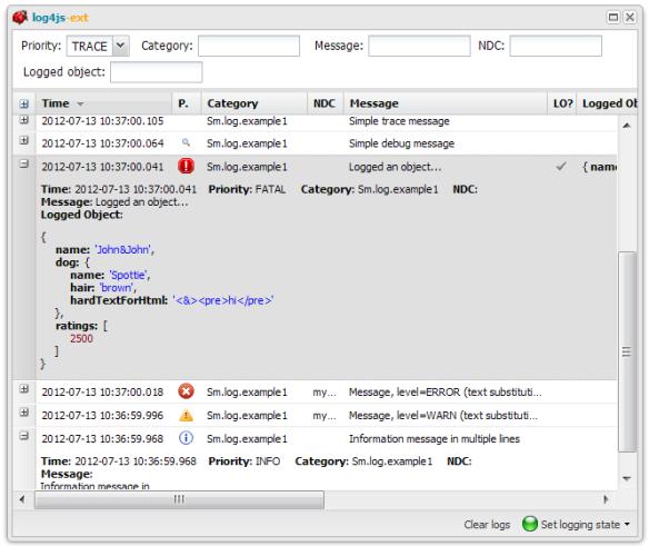 log4js-ext published   Software Development