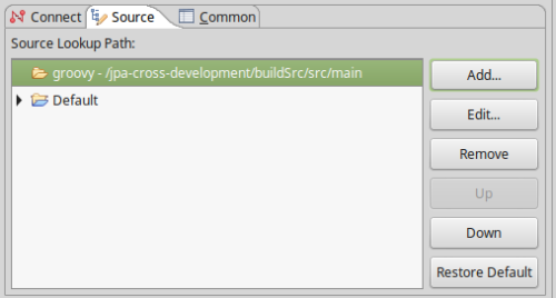 3. Tell Eclipse where to find the source code